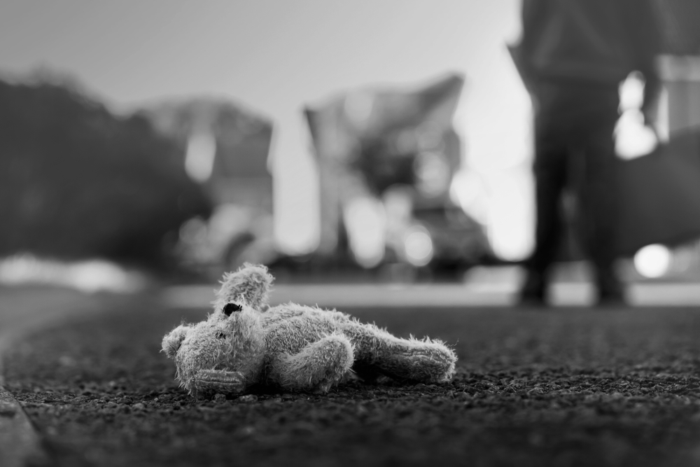 Discarded Toy Bear